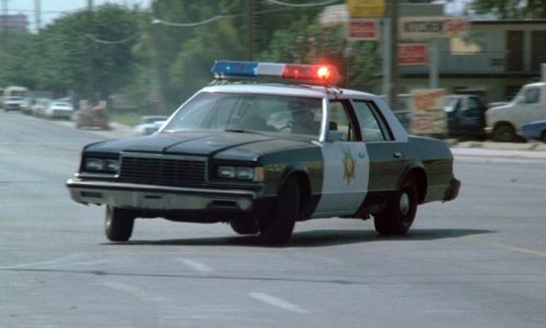 Top 10 boxy US police cars of the 1980s