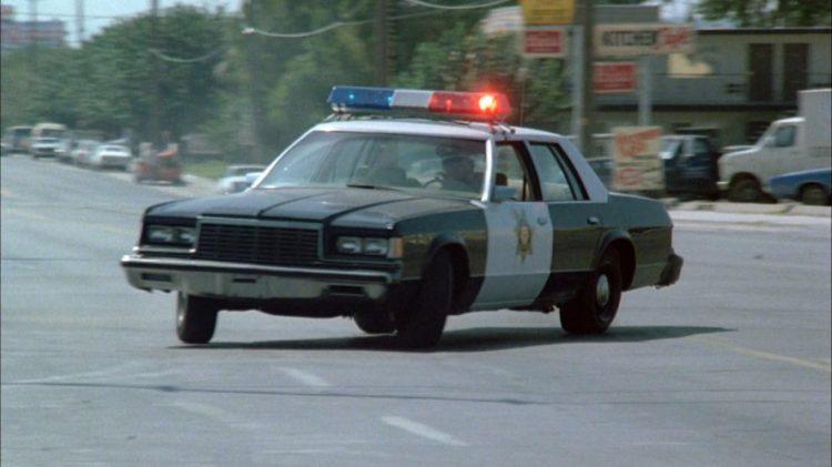 Dodge St. Regis Police Car
