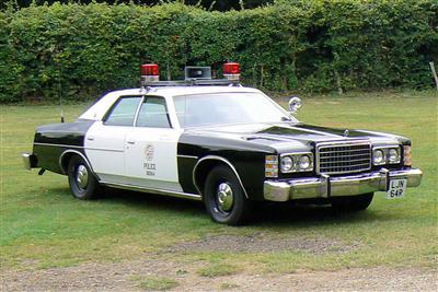 Ford LTD Crown Victoria Police Car