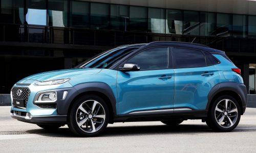 Hyundai Kona officially revealed, 130kW turbo flagship confirmed