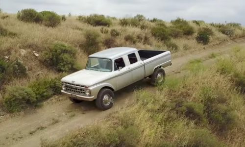 Icon creates modern classic from  1965 Ford F-Series Crew Cab