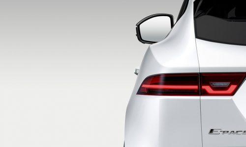 Jaguar teases E-Pace SUV ahead of July 13 launch