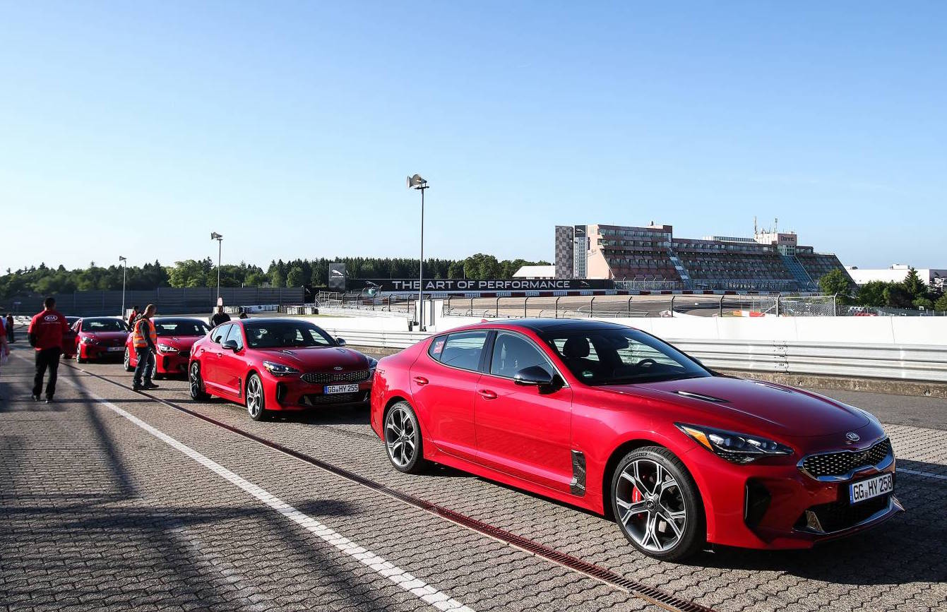 Kia Stinger Initial Launch Takes Place At Nurburgring