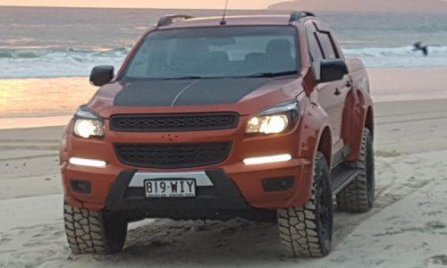 Killa Special Vehicles develops V8 Holden Colorado conversion kit