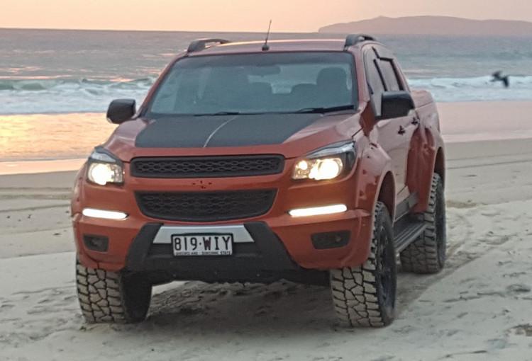 Killa Special Vehicles develops V8 Holden Colorado
