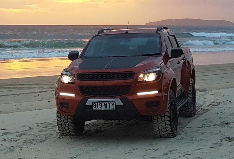 killa special vehicles develops v8 holden colorado conversion kit Colorado Crew Cab 4x4