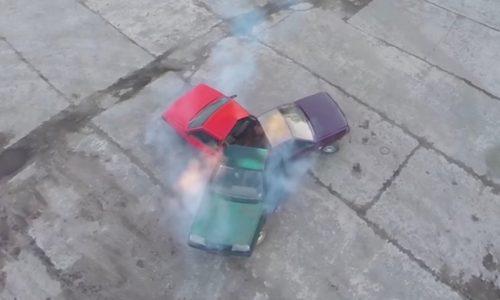 Video: Russians create first automotive fidget spinner