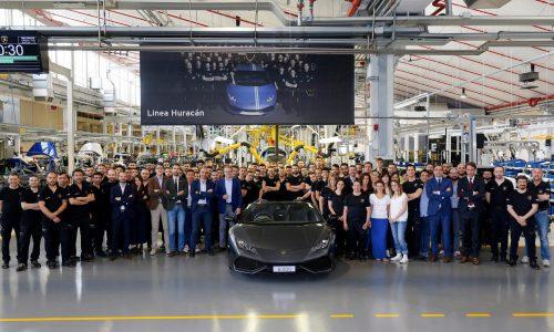 Lamborghini Huracan production hits 8000 milestone