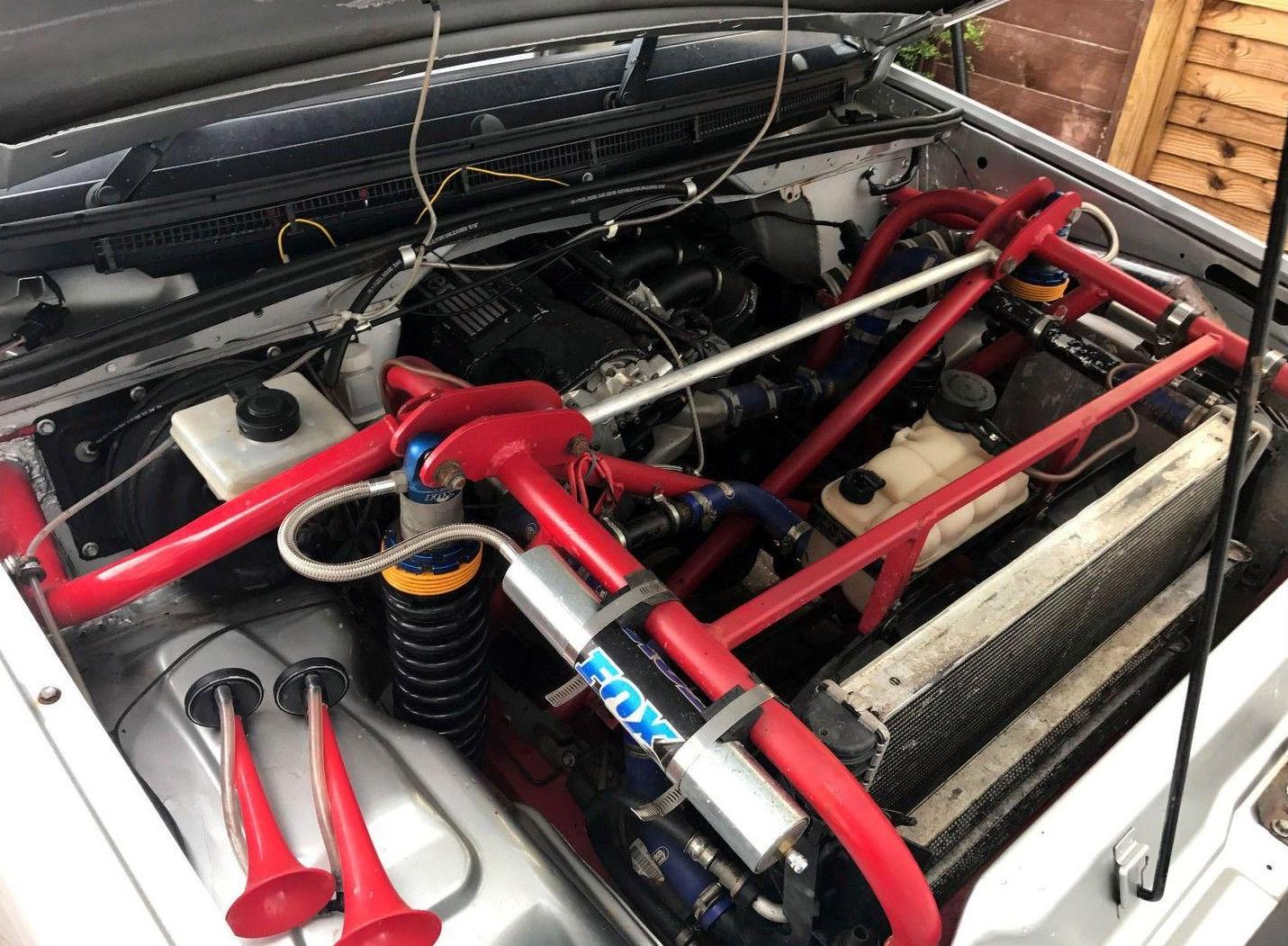 For Sale: Land Rover Discovery 2 with BMW M3 engine ...