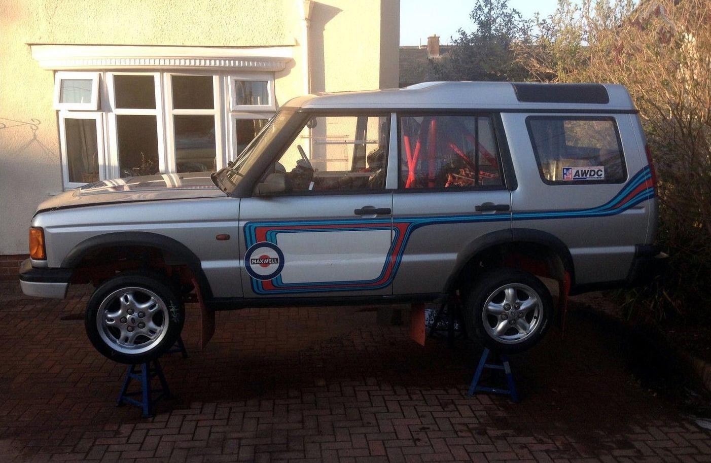 For Sale: Land Rover Discovery 2 with BMW M3 engine