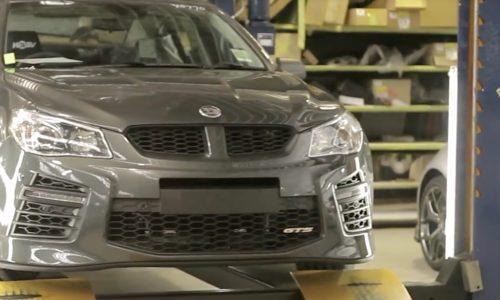 Last Australian-made HSV GTS rolls off the production line (video)