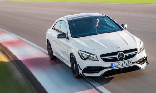 Mercedes-AMG working on 'softcore' A 45, CLA 45, GLA 45