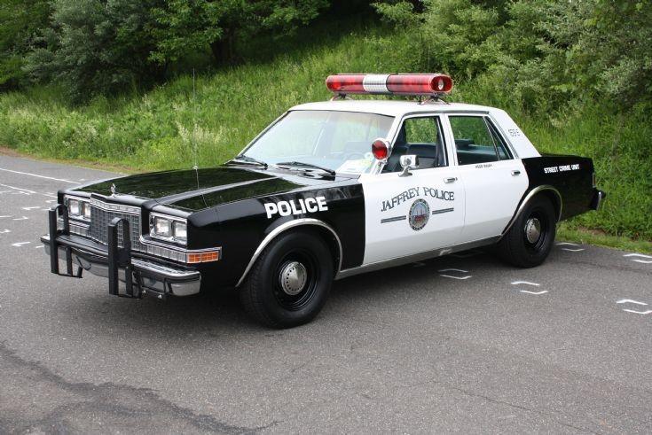 Plymouth Gran Fury Police Car