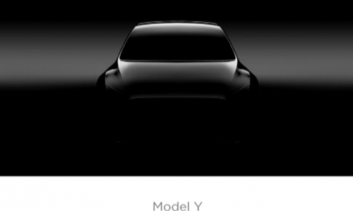 Tesla Model Y previewed for the first time, new medium crossover