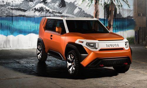 Toyota 'TJ Cruiser' trademark found, for mini FJ Cruiser?