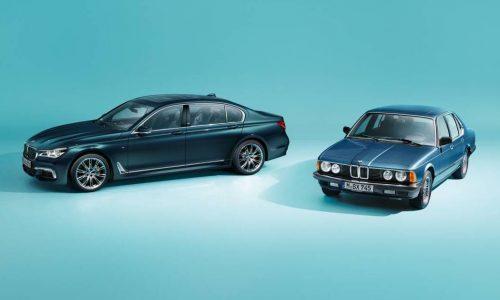 BMW 7 Series Edition 40 Jahre announced, celebrates 70th anniversary