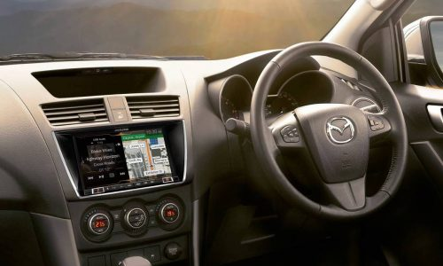 Mazda BT-50 XTR & GT debut new 8.0in touch-screen