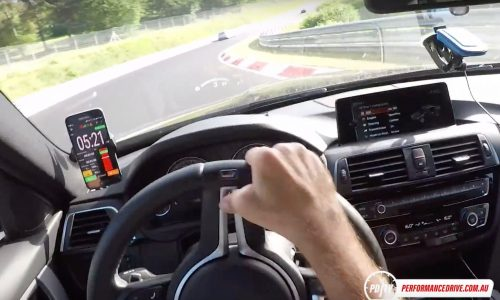 2017 BMW M3 Nurburgring on-board timed lap – Bridge to Gantry (video)