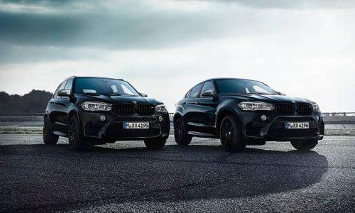 BMW announces X5 M & X6 M Black Fire editions