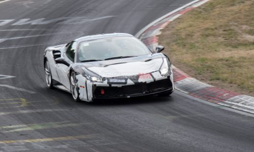 Ferrari 488 'GTO' spotted, with 812 Superfast KERS prototype (video)