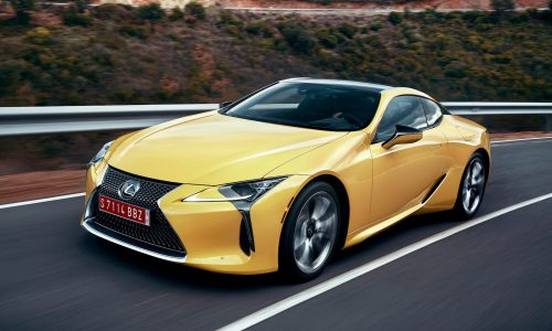 Lexus LC F planned for 2019, to come with 450kW twin-turbo V8 – report