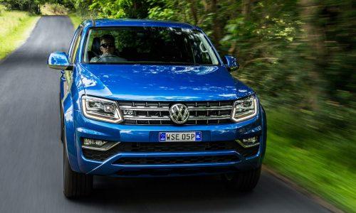 Volkswagen Amarok Sportline V6 on sale from $55,490