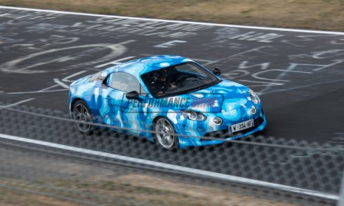 2018 Alpine A110 spotted testing at Nurburgring (video)