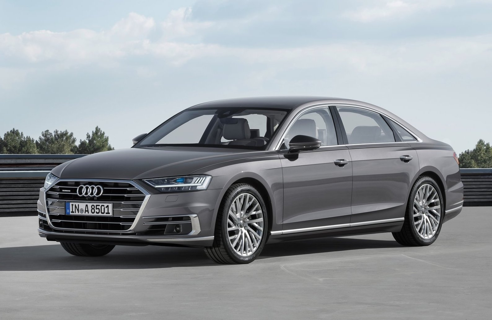 2018 Audi A8 officially revealed   PerformanceDrive