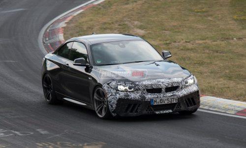 2018 BMW M2 CS prototype spotted at Nurburgring (video)