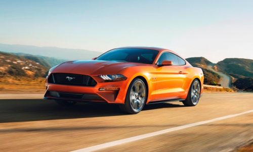 2018 Ford Mustang does 0-60mph in under 4.0sec in Drag Strip mode