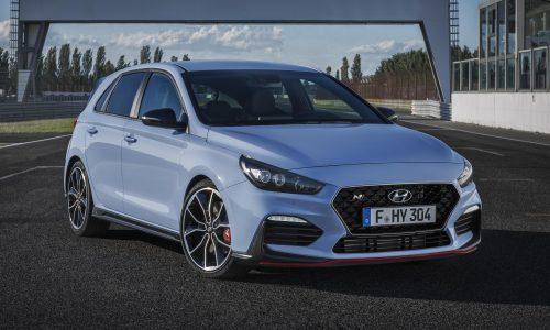 2018 Hyundai i30 N officially revealed; all-new hot hatch (video)