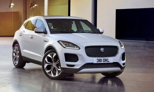 Jaguar E-Pace revealed as all-new small SUV (video)