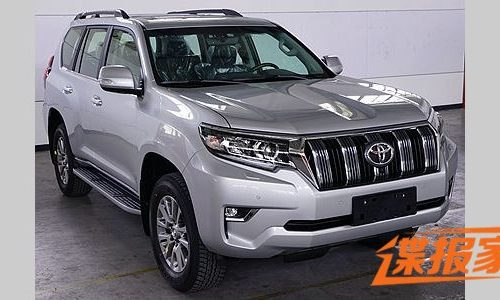 2018 Toyota Prado revealed, updated design inside & out