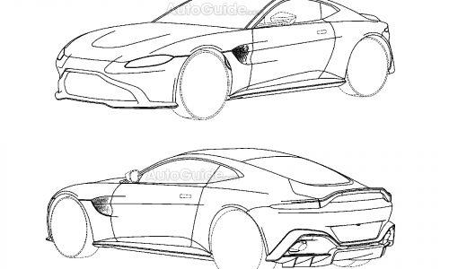 Next-gen Aston Martin Vantage previewed via patent images