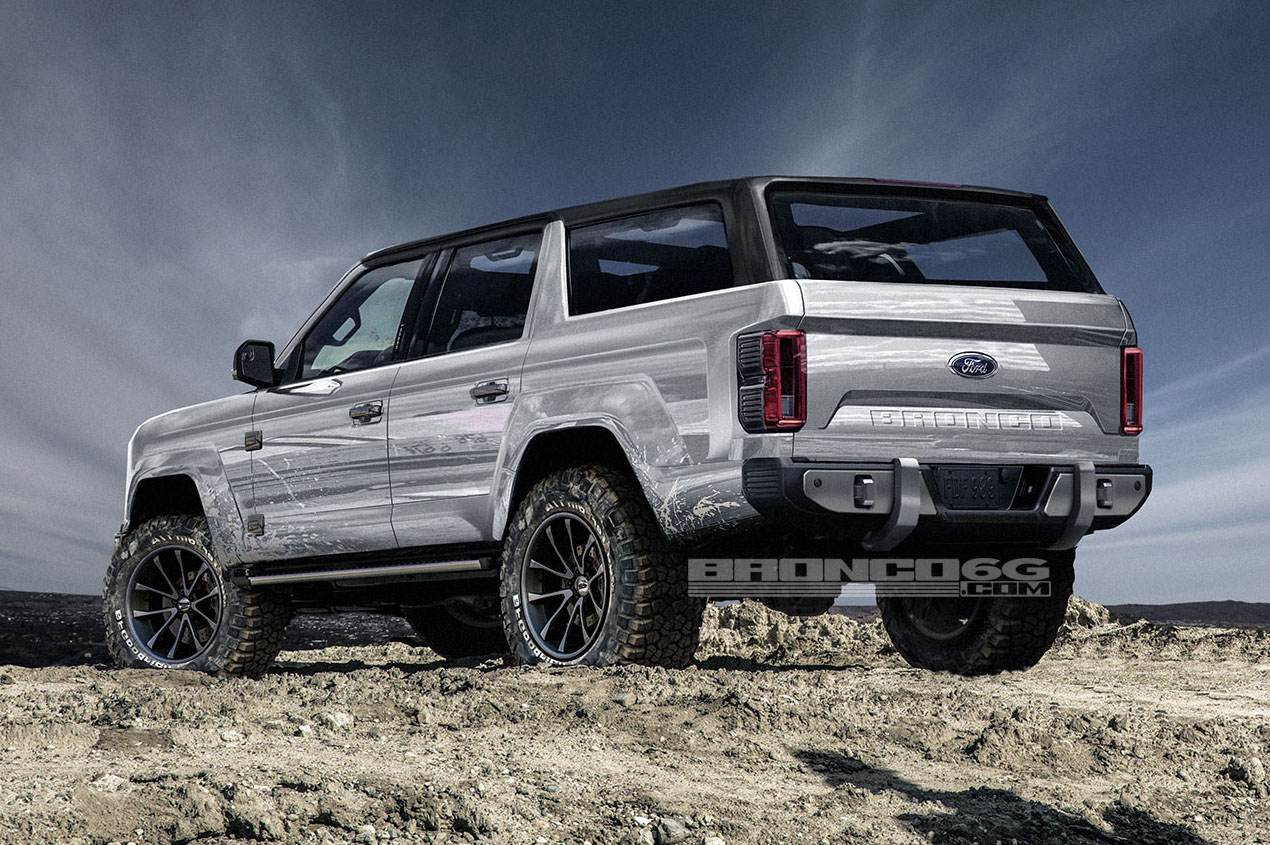 2017 Ford Bronco >> New Ford Bronco to be 4-door only, renderings show potential | PerformanceDrive