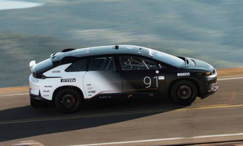 Near-production Faraday Future FF91 runs Pike Peak in 11:25 (video)