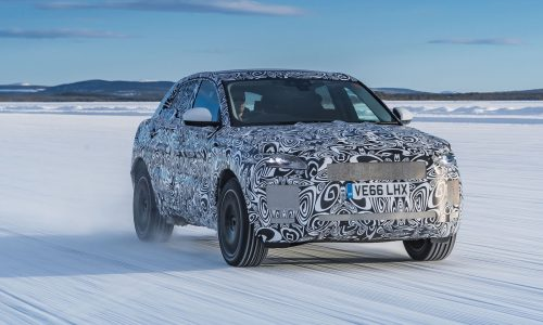 Jaguar E-Pace previewed, gruelling 120,000hrs of testing (video)
