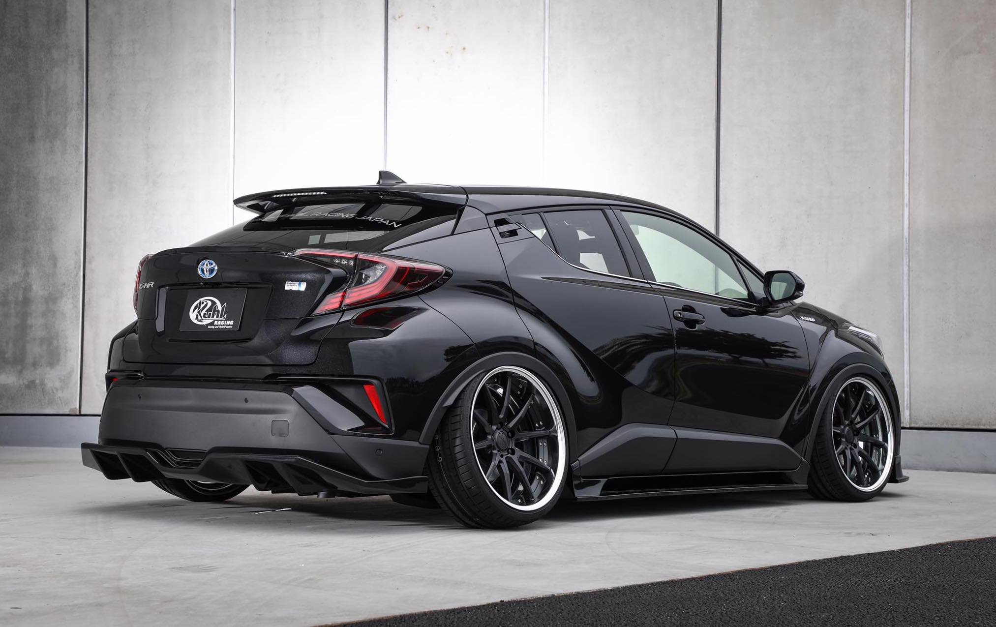Toyota C Hr Shows Off Tuning Side With Kuhl Racing Bodykit
