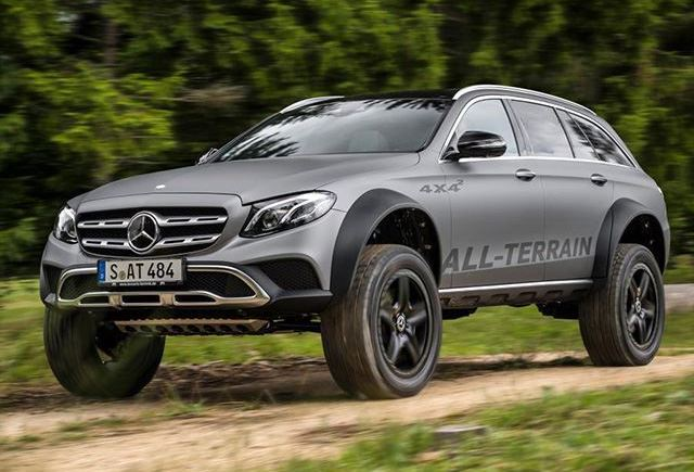 Mercedes-Benz E-Class All-Terrain 4×4² concept is just nuts