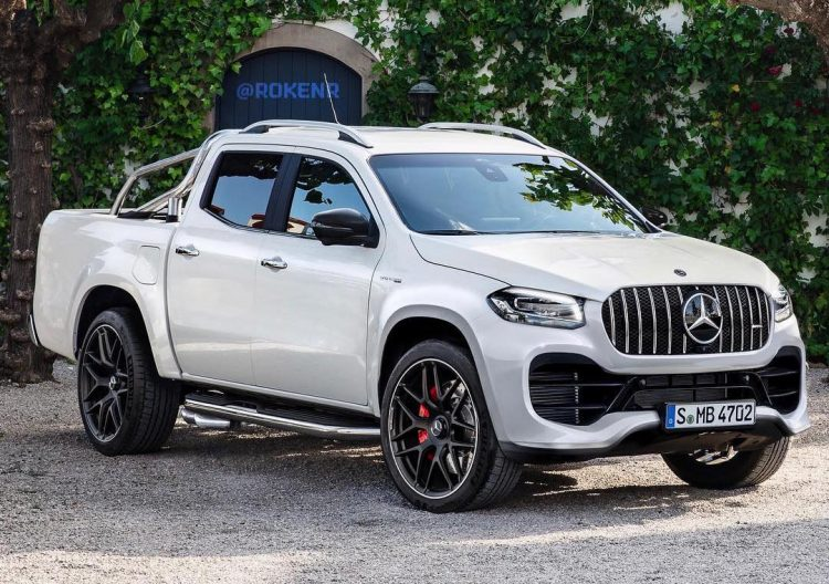Mercedes-Benz X-Class '63 AMG' ute rendered – has ...