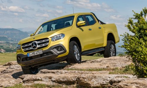 Mercedes-Benz X-Class ute unveiled, 190kW V6 flagship confirmed