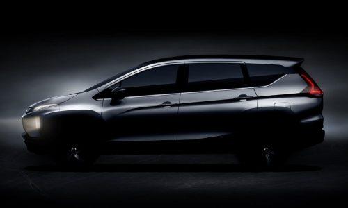 Mitsubishi Expander small crossover MPV previewed