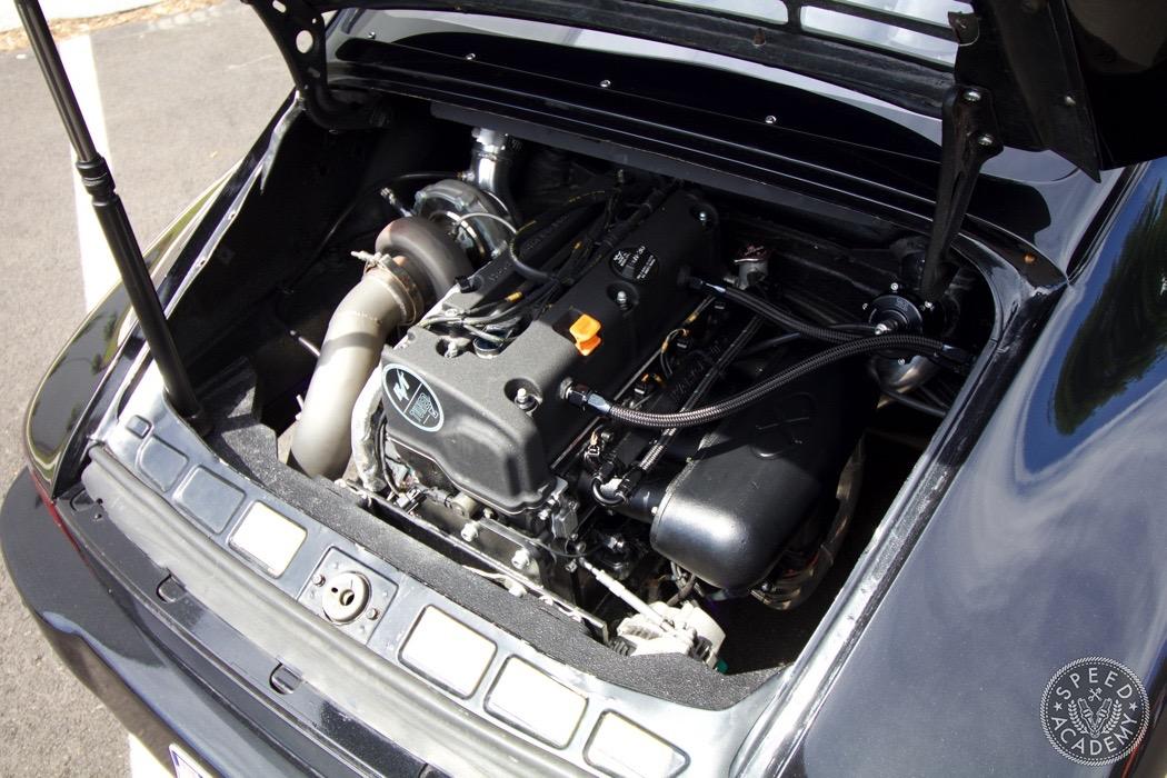 Porsche 911 Gets Honda K Series Engine Conversion