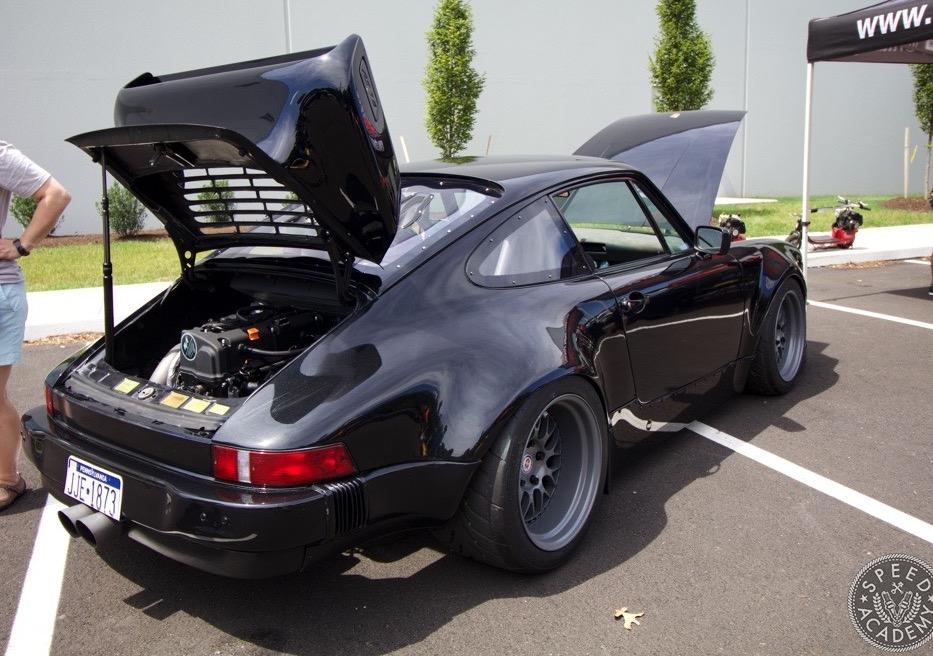 Porsche 911 gets Honda K-Series engine conversion