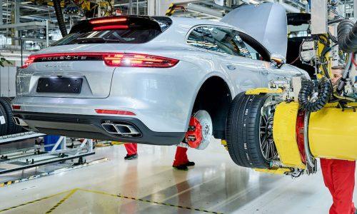 Porsche Panamera Sport Turismo production commences