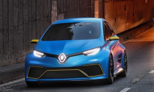 Renault Zoe R.S. electric hot hatch under consideration