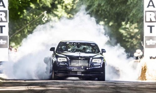 Rolls-Royce Dawn Black Badge debuts at Goodwood Festival