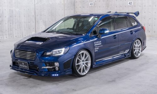 Subaru Levorg shows its tuning side with Rowen kit