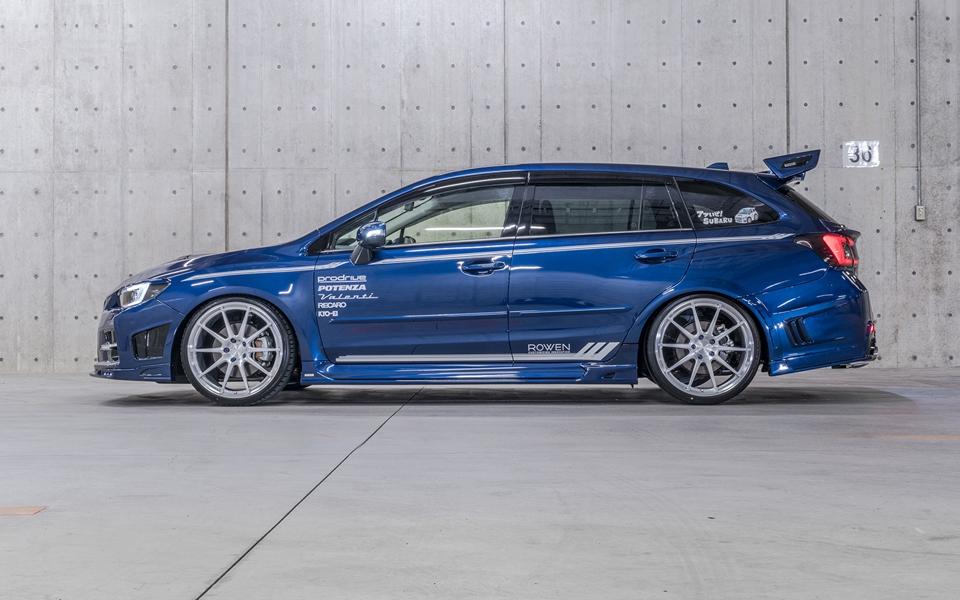 Subaru Levorg Shows Its Tuning Side With Rowen Kit Performancedrive