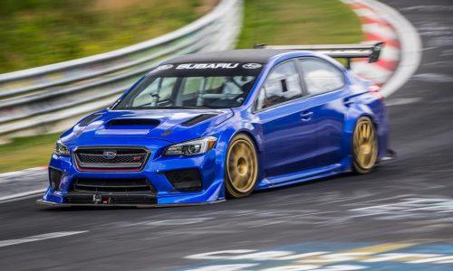 Subaru WRX STI Type RA sets new Nurburgring record